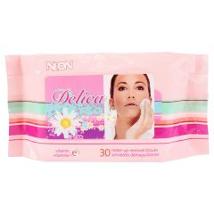 Neon Delica Vitamin E Make Up Removal Wipes 30Pk