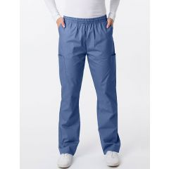 Green Town Classix Collection Unisex Scrub Pant Postman Blue