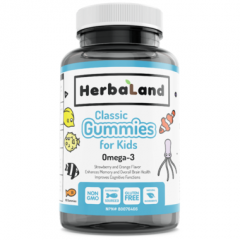 Herbaland Omega-3 Gummies For Kids 60Pc
