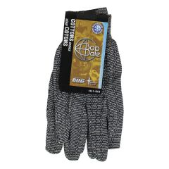 BDG Men's Work Gloves Salt & Pepper Cotton Jersey Knit Glove