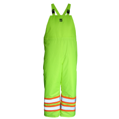 Open Road Insulated Overall Pants Yellow 2X Large