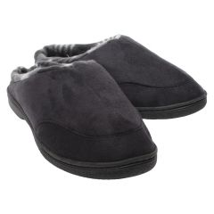 Rockwell Suede Slipper with Plaid Insole