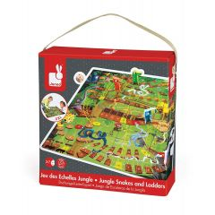 Janod Puzzle And Game Set Jungle Snake