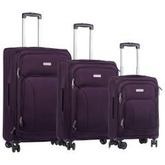 Champs Travelers Collection 29in Soft Side Luggage Purple