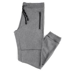 NXT GEN Men's Fleece Zipper Joggers Grey
