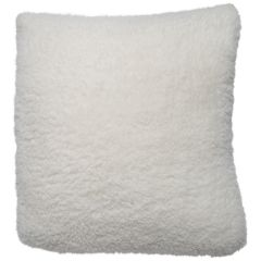 Fluffy Plush Decorative Cushion 18in