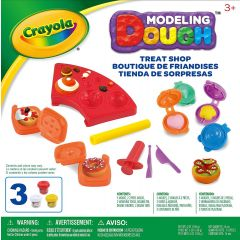 Crayola Modelling Dough Treat Shop Play Set