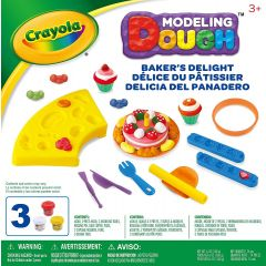 Crayola Modelling Dough Bakers Delight Play Set