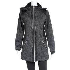 PSG Collection Women's Bonded Jacket With Hood Charcoal
