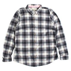 Women's Domini Microfleece Plaid Button Front Shirt