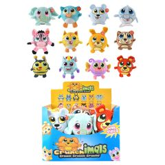 Crunchimals 4inch Quirky Animal Toys Assorted
