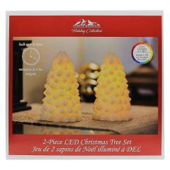 Purple Mountain Home LED Christmas Tree 2Pk