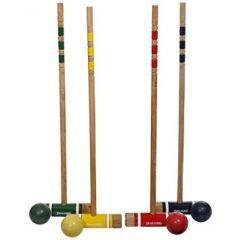 Croquet Four Player Game Set