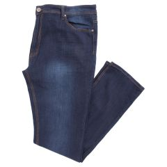 FReDNM Big and Tall Stretch Fit Sandblast Denim