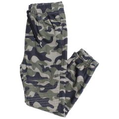 Twill Moto Style Joggers Camouflage Size 3-6X