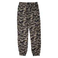 Twill Moto Style Joggers Camouflage Size 8-16