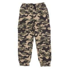 Billy Wear Twill Cargo Joggers Camouflage Size 4-6X