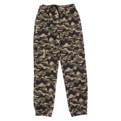 Billy Wear Twill Cargo Joggers Camouflage Size 8-16