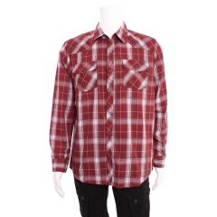 Giultyman Western Style Men's Shirt Brick Red
