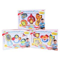 Learning Fun Rattles 4Pk
