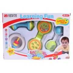 Learning Fun Smart Rattle Set 4Pk