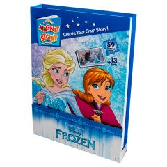 Disney Frozen Story Book And Magnetic Play Set