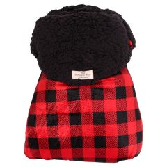 The Northern Way Company Buffalo Plaid Stroller & Car Seat Bag Red