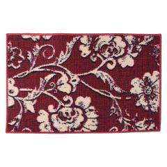 Floral Printed Door Mat 18 X 28in