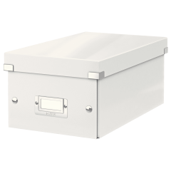 Leitz Click & Store Storage Box White 8x13x5in