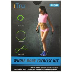 iTru Whole Body Resistance Band Kit