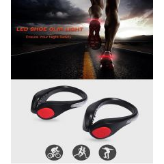 Ultra Bright LED Shoe Clip Light