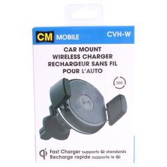 CM Mobile Car Mount Wireless Charger