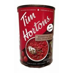 Tim Hortons Homestyle Beef Chili 425g
