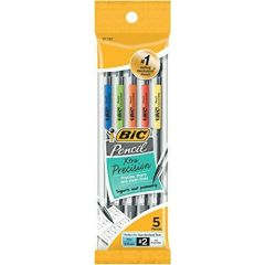 BIC Mechanical Pencils Assorted 0.5mm 5Pk