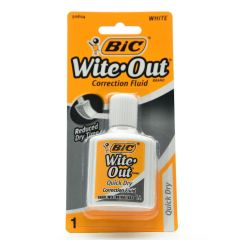 BIC Wite-Out Quick Dry Correction Fluid 0.7oz