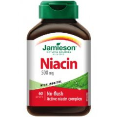 Jamieson Niacin With Inositol 500 mg
