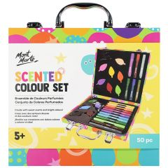 Mont Marte Super Scented Colouring Set 48 Pieces