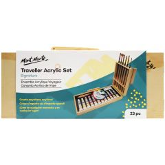 Mont Marte Traveller Acrylic Set 23 Pieces