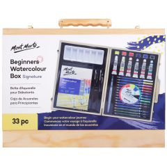 Mont Marte Beginners Watercolour Box 33 Pieces