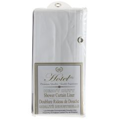 Heavy Duty Shower Curtain Liner White