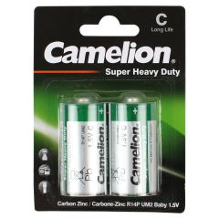 Camelion Heavy Duty Batteries 1.5V Long Life Pack of 2