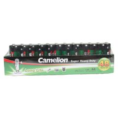 Camelion Super Heavy Duty AA Batteries 48Pk