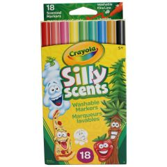 Crayola Silly Scents Scented Markers 18 Pk