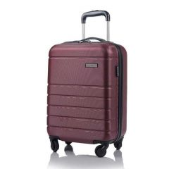 Champs Journey Collection 20in Hard Side Luggage Red