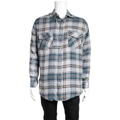 Pro Action Plaid Flannel Snap Front Shirt