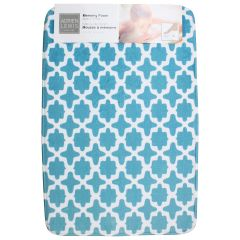 Adrien Lewis Memory Foam Trellis Bath Mat 20 X 30 In Assorted