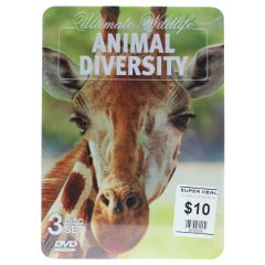 Ultimate Wildlife Animal Diversity DVD 3 Disc Set