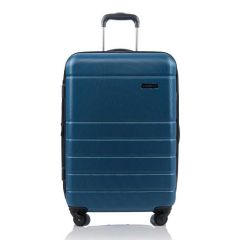 Champs Journey Collection 24in Hard Side Luggage Blue