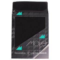 Move Reversible Laptop Sleeve Black 12 Inch