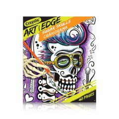 Crayola Art With Edge Sugar Skulls Coloring Book